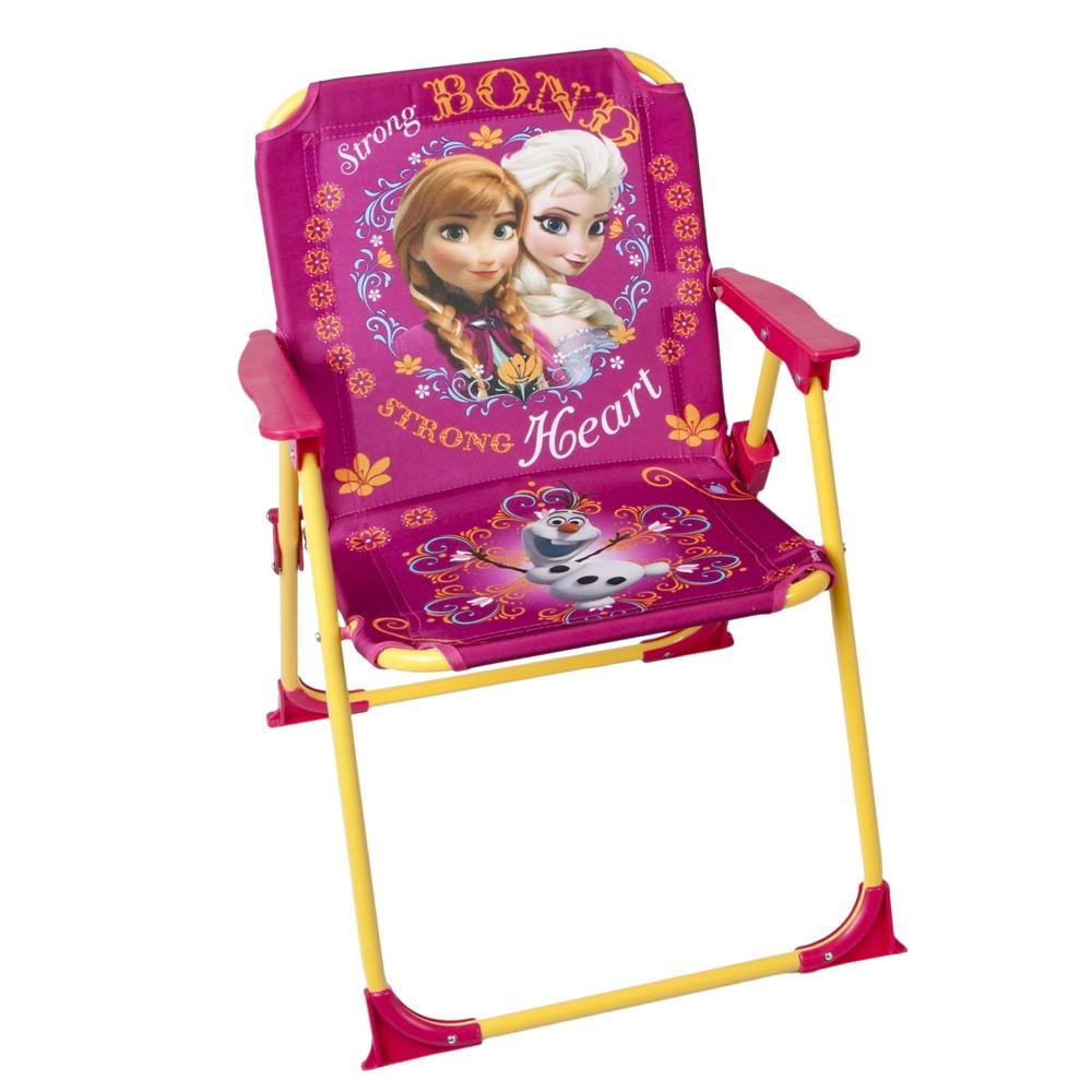 Chaise pliable enfant frozen reine des neiges jardin - Chaise enfant pliable ...