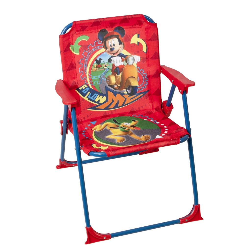 children folding chair mickey mouse garden camping home ebay. Black Bedroom Furniture Sets. Home Design Ideas