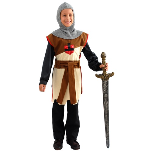 deguisement enfant costume de chevalier medieval gar on 4 a 10 ans ebay. Black Bedroom Furniture Sets. Home Design Ideas